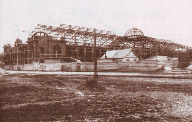 строительство рынка 1915 год