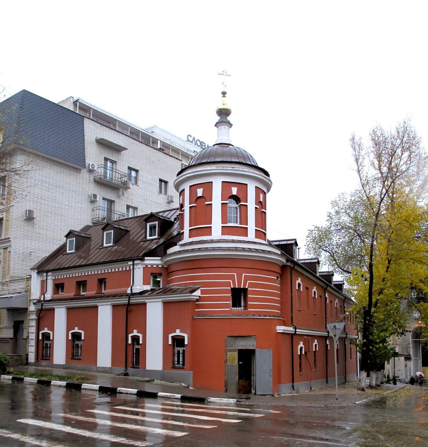 Современный вид отреставрированного храма