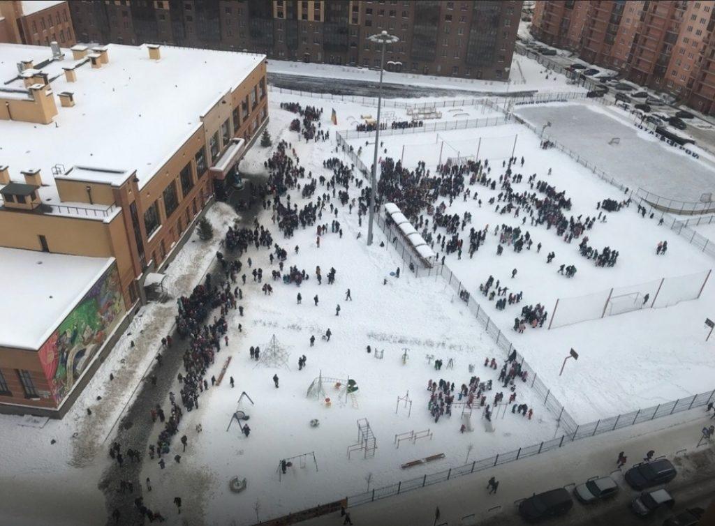 Эвакуация в Санкт-Петербурге
